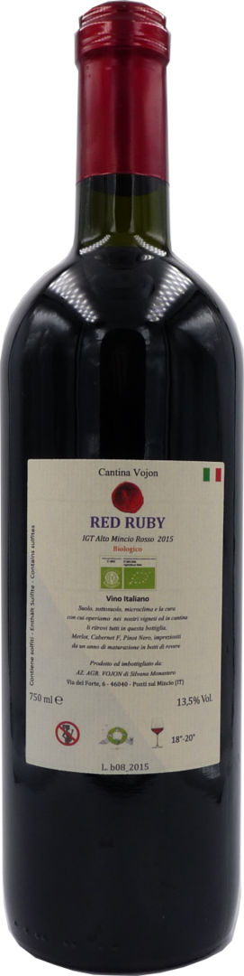 RED RUBY IGT 2015 -BIO- Cantina Vojon